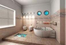 decorare baie