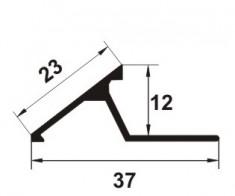 montare prag tip rampa