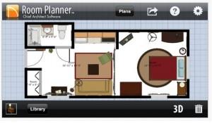 aplicatie smartphone Room Planner