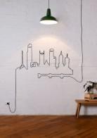 mascarea cablurilor in casa